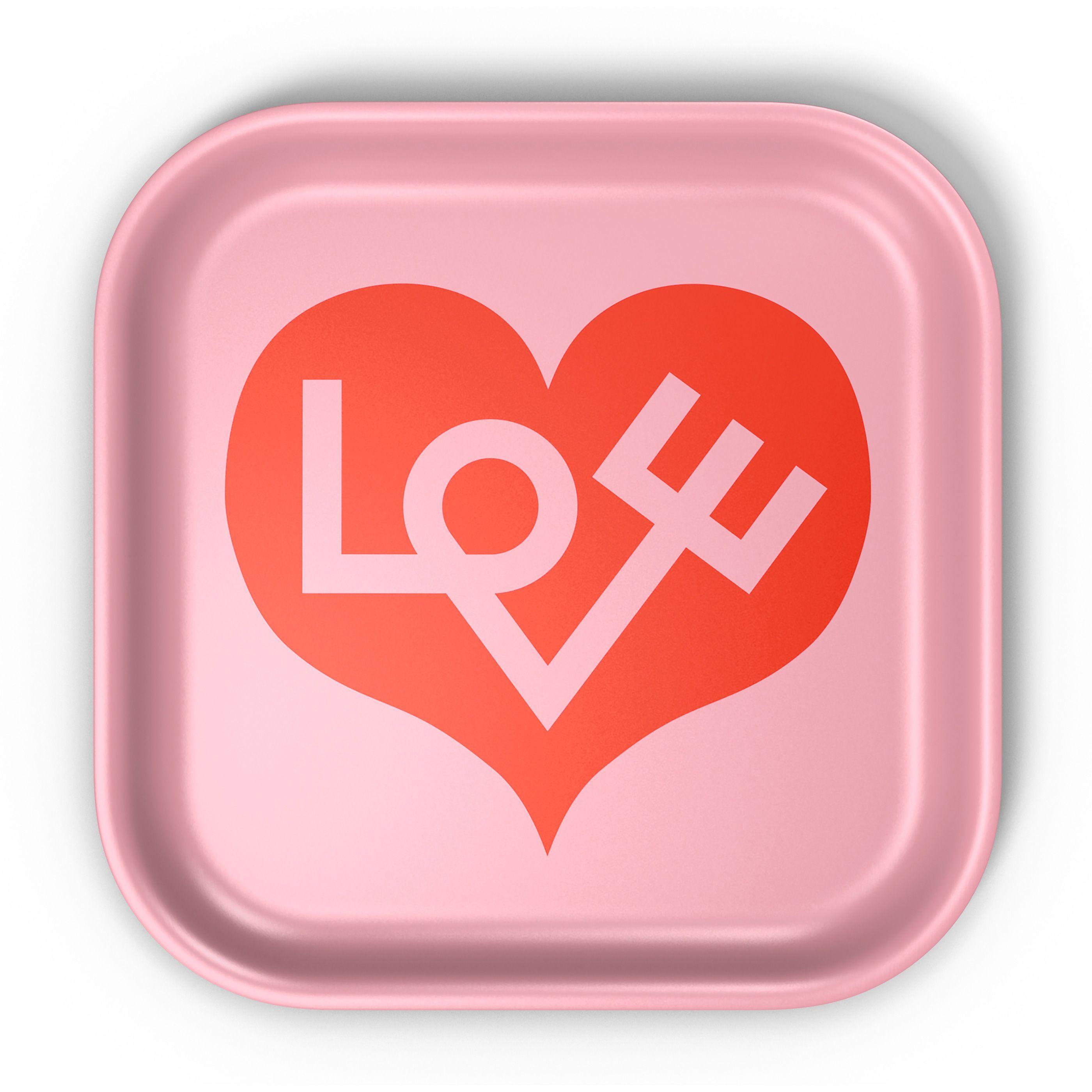 Vitra Classic Tray Love Heart dienblad small kopen