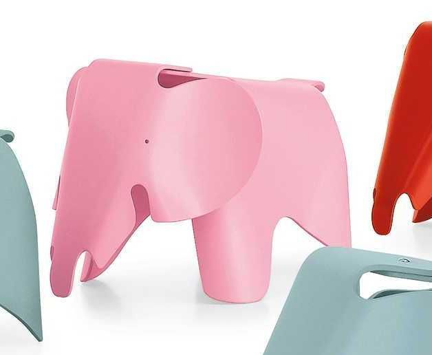 Vitra Eames Elephant kinderstoel lichtroze kopen