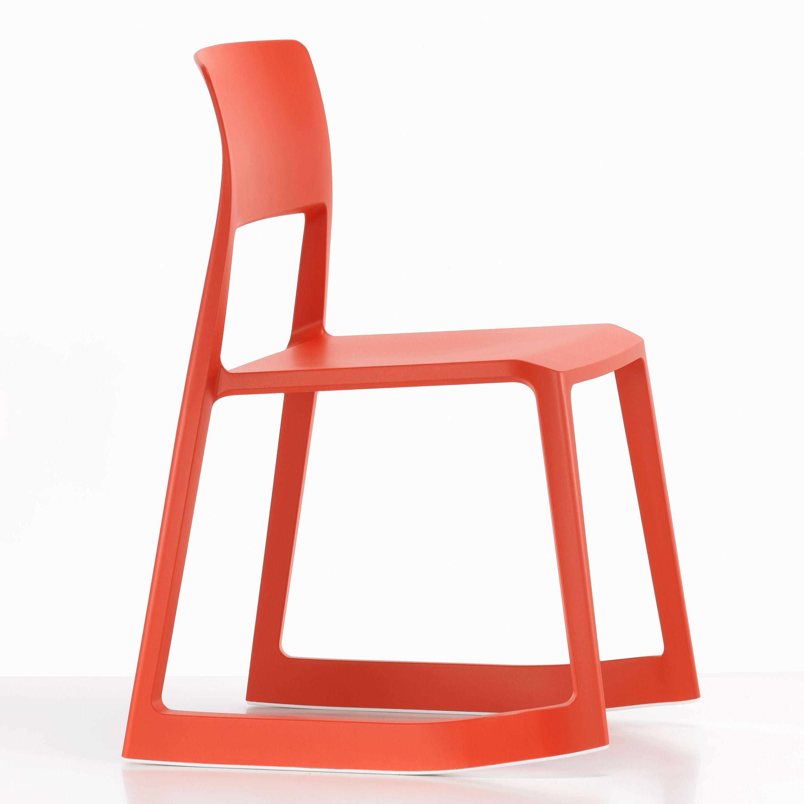 Vitra Tip Ton stoel rood