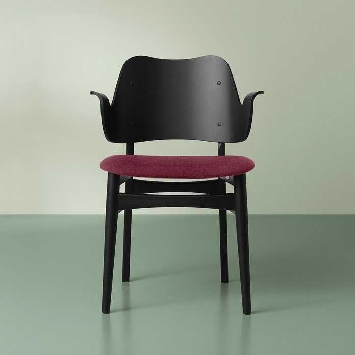 Warm Nordic Gesture stoel zitting gestoffeerd