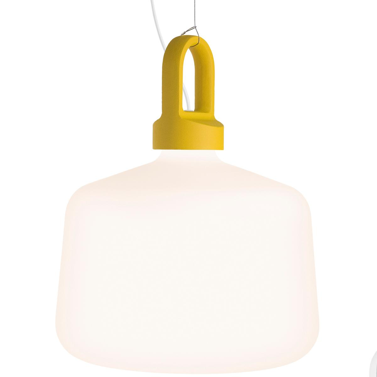 Zero Bottle hanglamp Halogeen geel
