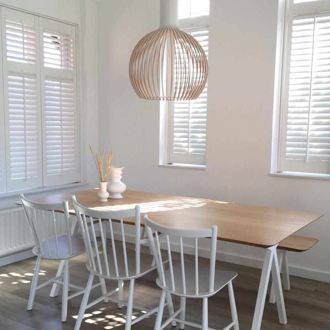 Eetkamer Eetkamer inspiratiefoto met Studio HENK Hanglampen