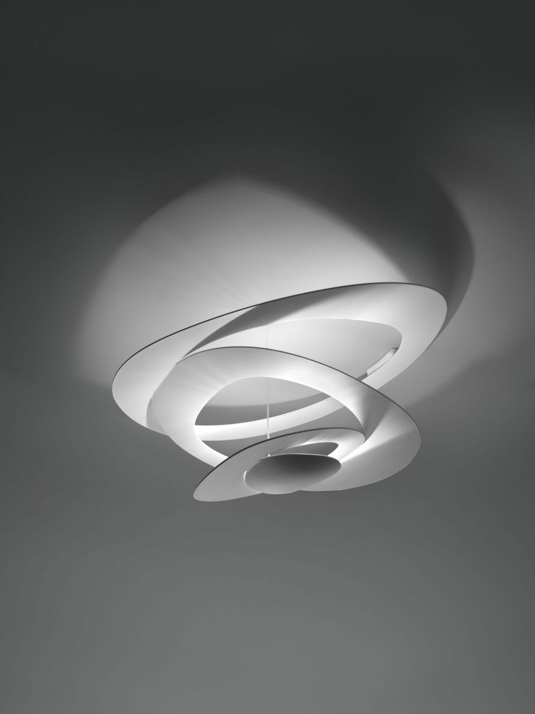 Artemide Pirce Mini Soffitto plafondlamp Halo wit