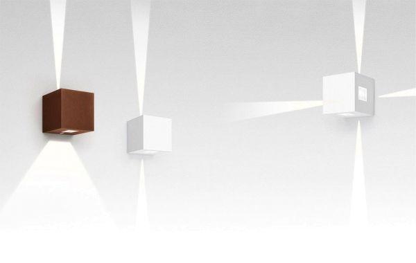 Artemide Effetto 14 quadro wandlamp LED smalle lichtstraal