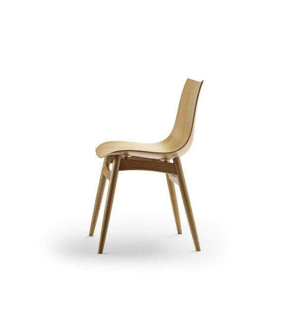 Carl Hansen & Son Preludia wood stoel