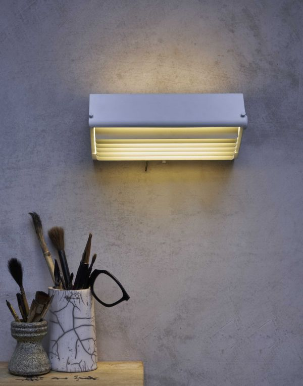 DCW éditions Biny Box 2 wandlamp LED met switch