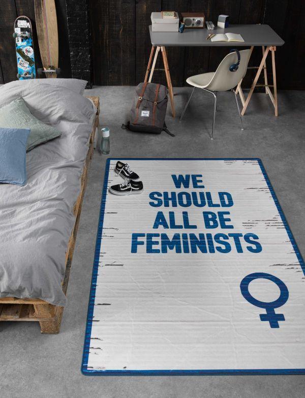 Tarkett Feminist vloerkleed vinyl 125x196