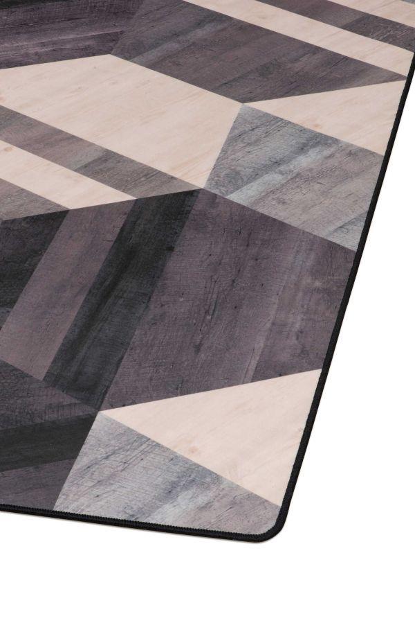 Tarkett Hexagon vloerkleed vinyl 166x226