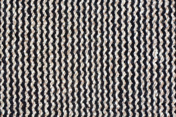 Fabula Living Fenris zwart/naturel vloerkleed