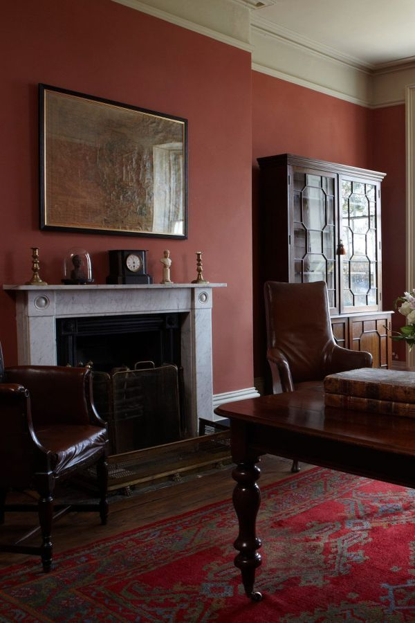 Farrow & Ball Krijtverf Book Room Red (50)
