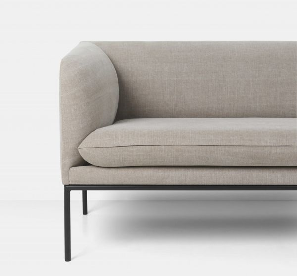 Ferm Living Turn Sofa bank Linen 2-zits