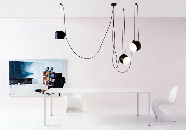 Flos Outlet - Aim Small hanglamp LED zwart