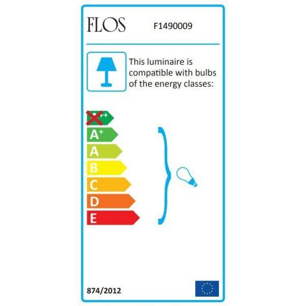 Flos Mini Button wandlamp glas