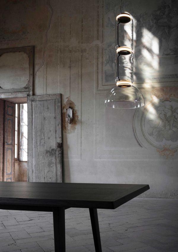 Flos Noctambule 1 low cylinder en bowl hanglamp LED