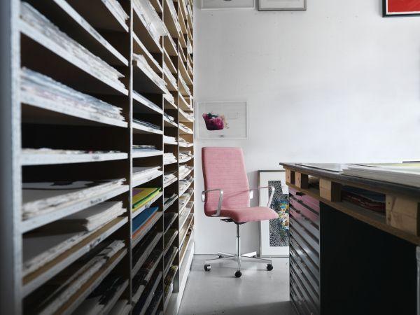 Fritz Hansen Oxford Premium Highback bureaustoel