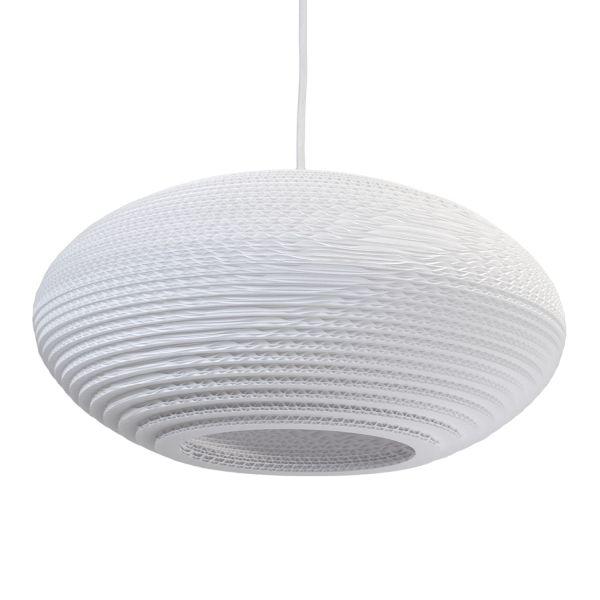 Graypants Disc 16 White hanglamp