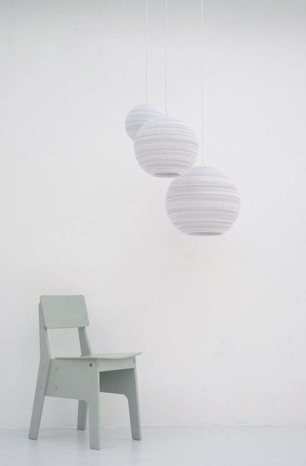 Graypants Moon 14 White hanglamp