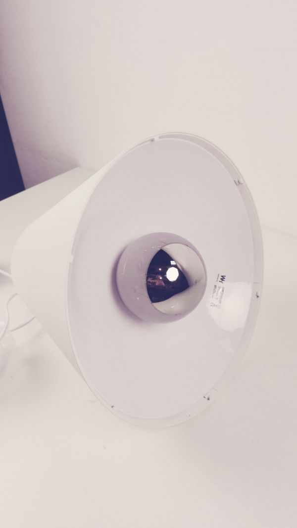 Hay Outlet - Sinker hanglamp LED large wit, 4 meter snoer