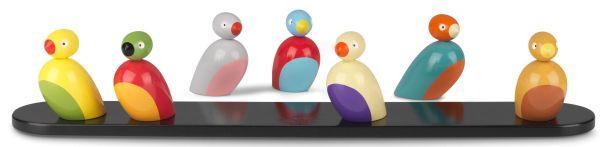 Kay Bojesen Sparrows speelgoed set van 7
