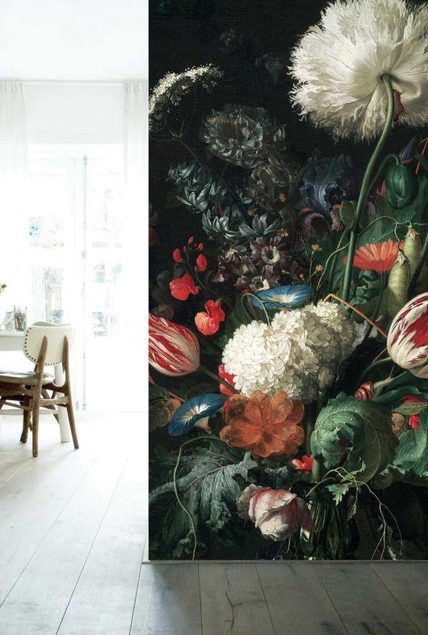 KEK Amsterdam Golden Age Flowers I behang