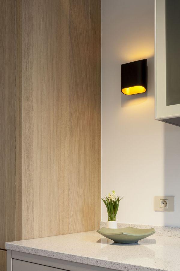 Modular Trapz wandlamp LED