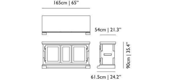 Moooi Paper Buffet dressoir