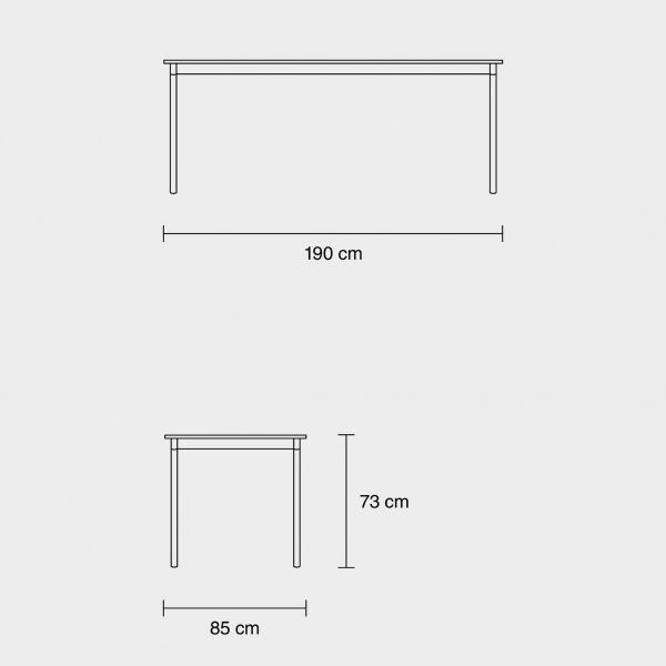 Muuto Base tafel 190x85
