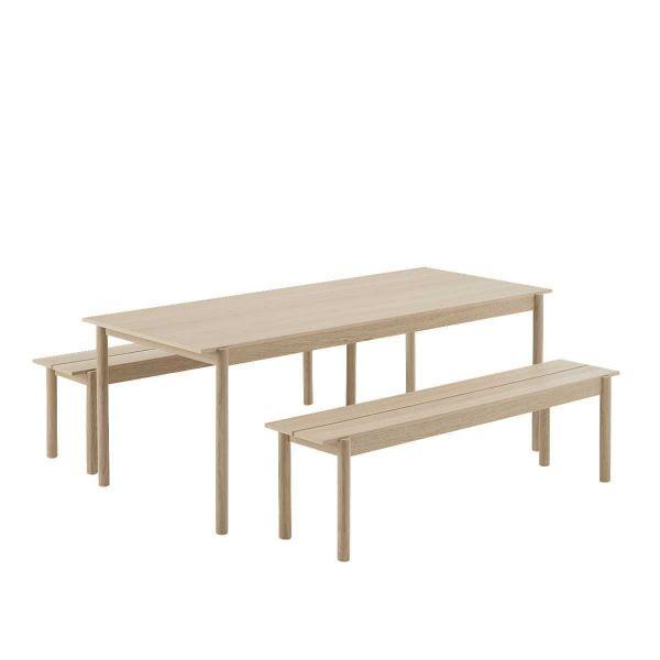 Muuto Linear Wood tafel 200x85