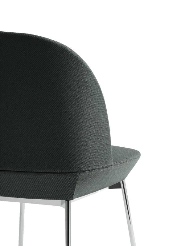 Muuto Oslo Side stoel chrome