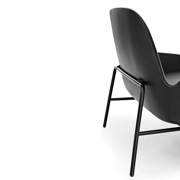 Normann Copenhagen Era Sofa bank met zwart stalen onderstel