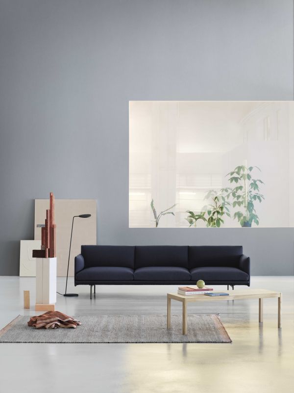 Muuto Outline bank 3,5-zits