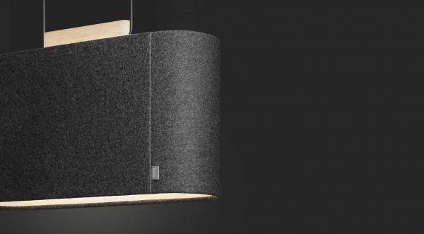 Pablo Belmont 22 hanglamp LED akoestisch
