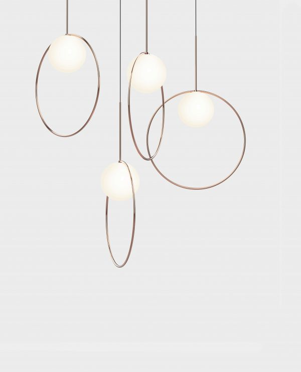 Pablo Bola Halo 12 hanglamp LED