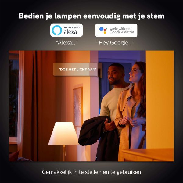 Philips Hue Philips Hue lichtbron GU10 Bluetooth -white ambience- 2-pack
