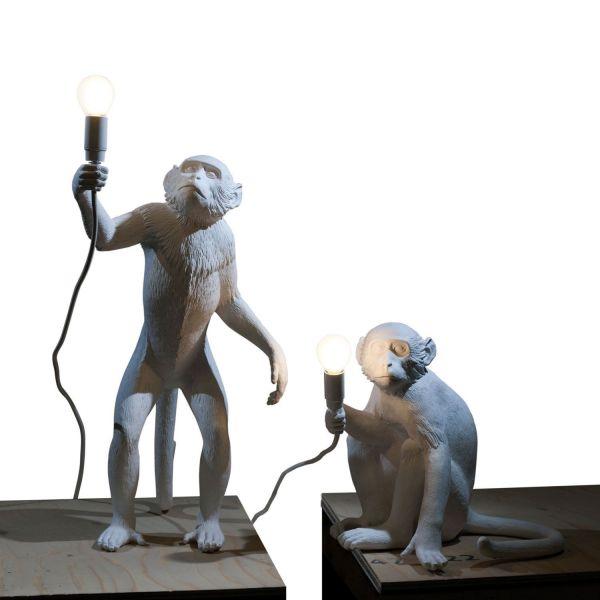Seletti Monkey Sitting tafellamp