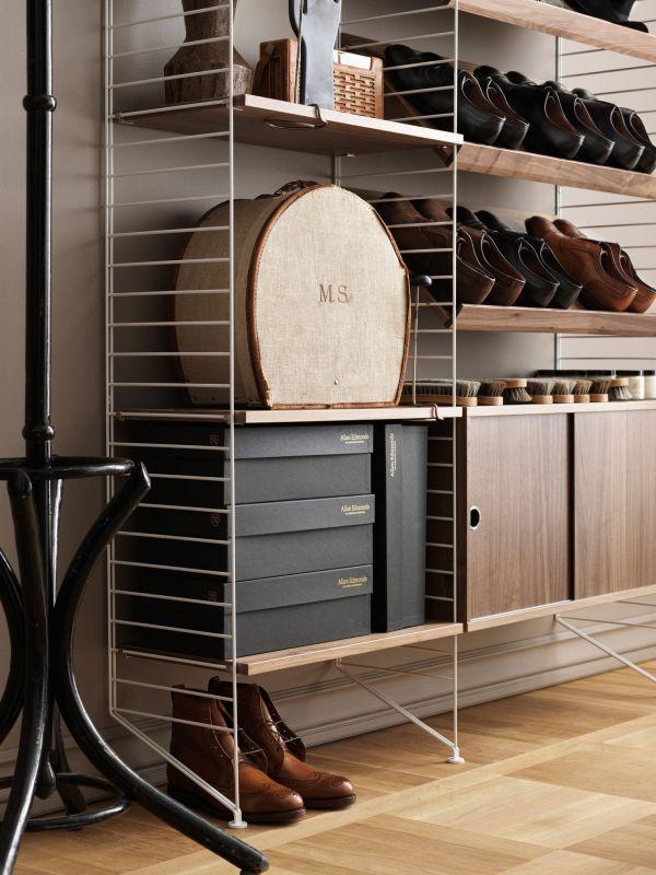 String Shelf plank 3-pack 58 x 20 cm