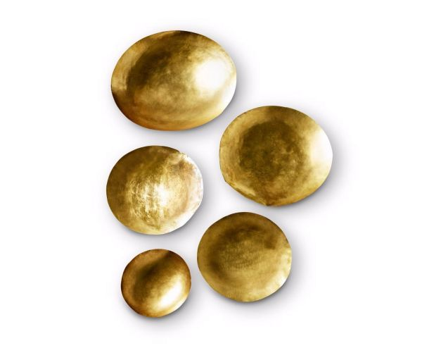 Tom Dixon Form Bowl schaal set goud
