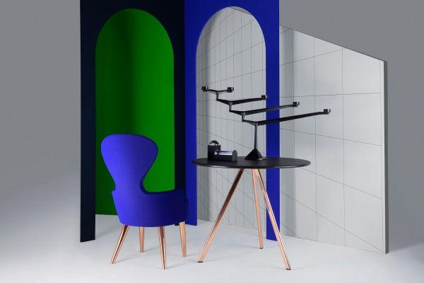 Tom Dixon Wingback Copper stoel