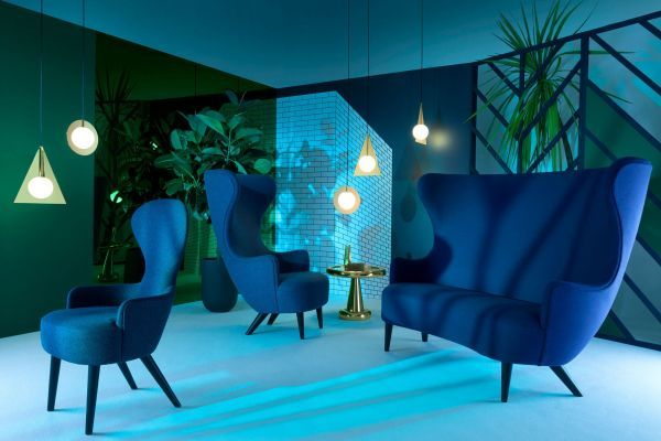 Tom Dixon Wingback sofa