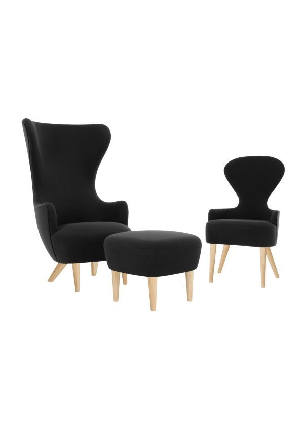 Tom Dixon Wingback Oak fauteuil