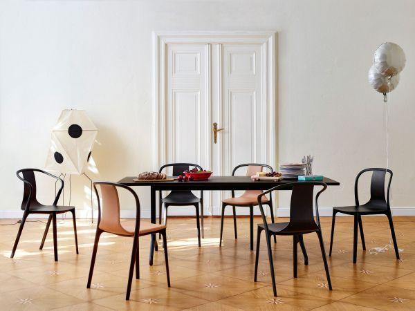 Vitra Belleville Armchair gestoffeerde stoel