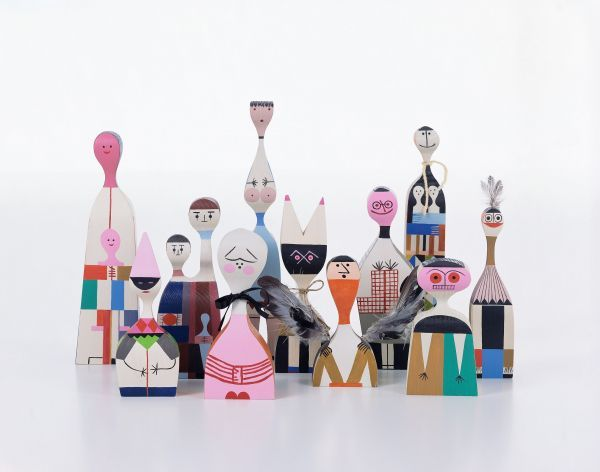 Vitra Wooden Dolls No. 19 kunst