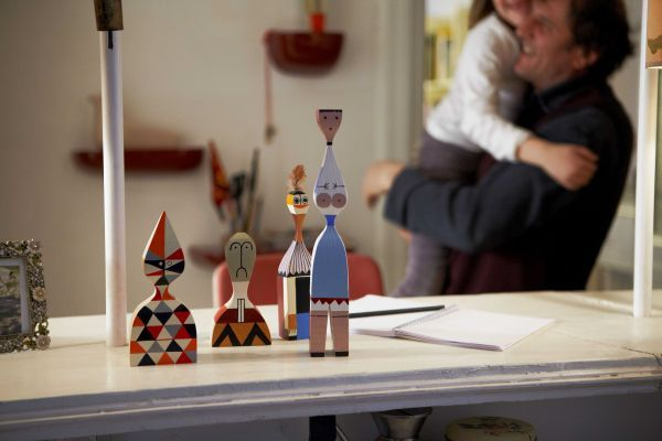 Vitra Wooden Dolls No. 2 kunst