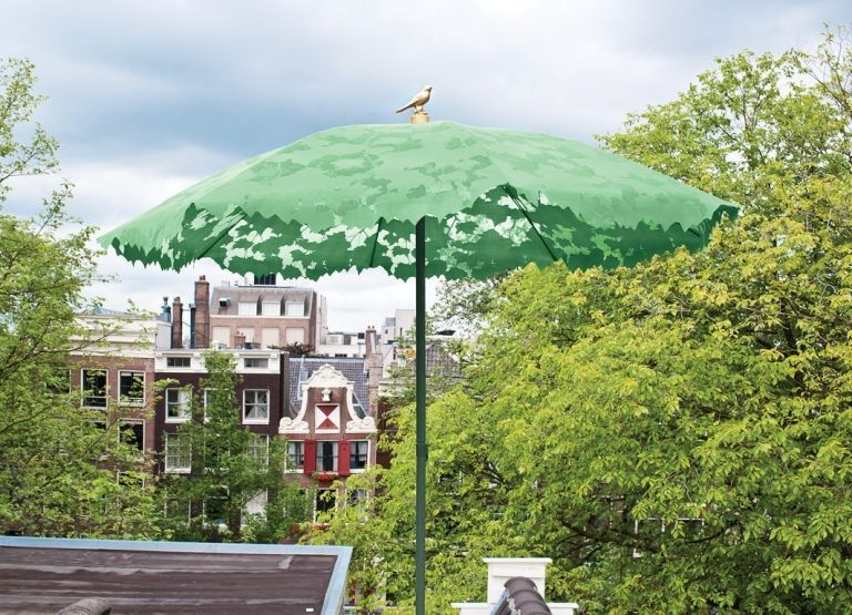 Droog Outlet - Shadylace M parasol groen