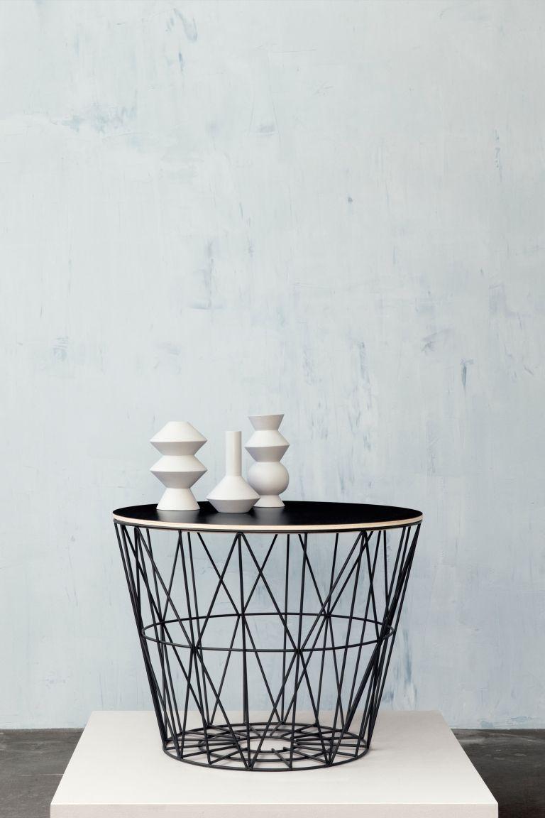 Ferm Living Wire Basket deksel opbergmand medium