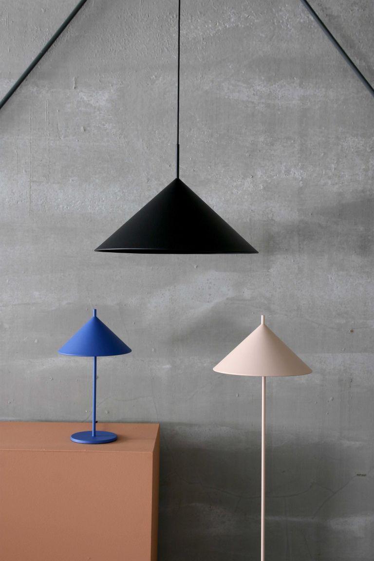 HKliving Triangle tafellamp