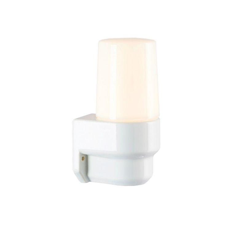 Ifö Electric Classic Lampett wandlamp porselein wit IP55