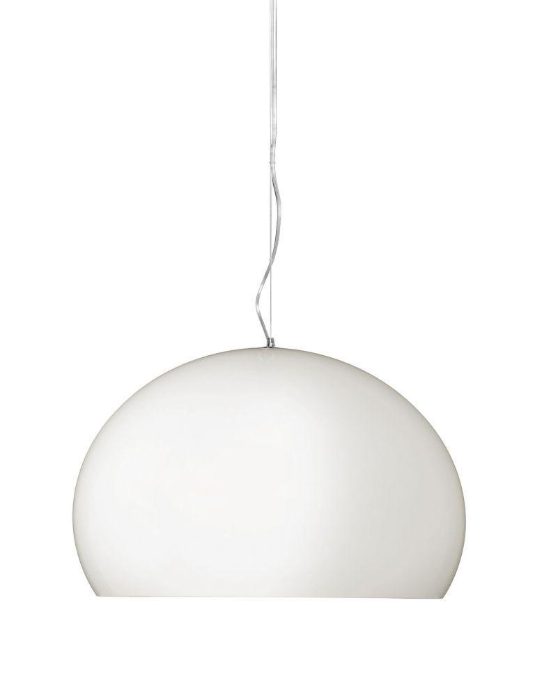 Kartell Outlet - FL/Y hanglamp mat wit