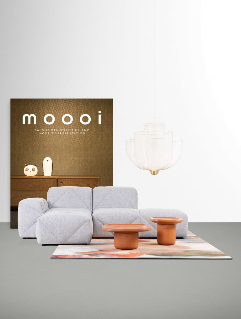 Moooi BFF Sofa bank met chaise longue links