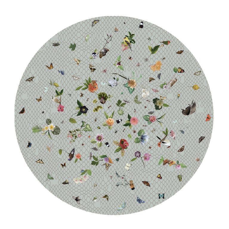 Moooi Carpets Garden of Eden Round Netting vloerkleed 250